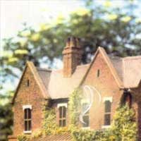 Borely Rectory before fire