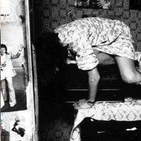 Enfield Poltergeist Causes Levitation