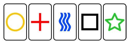 Zener Card Symbols